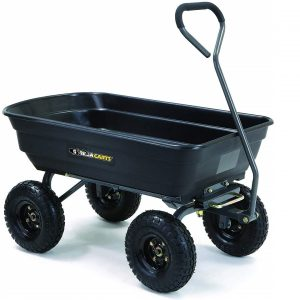 Gorilla Carts Best wheelbarrow