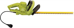 "Sun Joe HJ22HTE 22"" 3.5 Amp Electric Hedge Trimmer, Green"