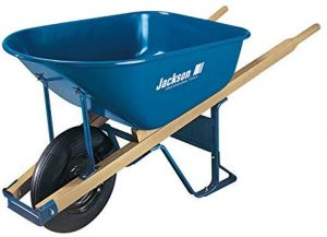 The Ames Companies, Inc M6T22 Jackson Steel Contractor Wheelbarrow