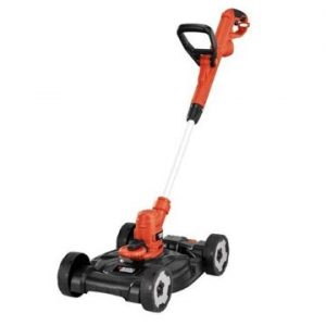 Black+Decker MTE912 12-inch Electric 3-in-1 Trimmer Edger And Mower, 6.5