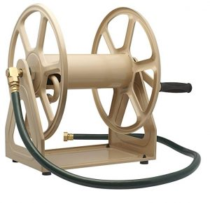 Garden 709 Steel Wall Mounted Hose Reel By Liberty