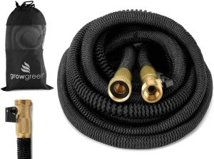 Heavy Duty 50 Feet Expandable Hose Set by GrowGreen
