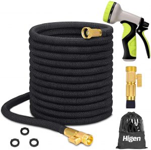 Higen 100ft Expandable Upgraded Garden Hose Set