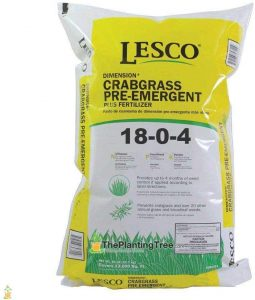 Lesco Fertilizer Plus Herbicide