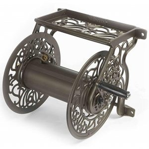 Liberty Garden 704 Decorative Wall Mount Garden Hose Reel