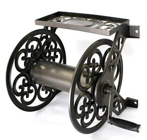 Liberty Garden 708 Steel Wall Mount Garden Hose Reel