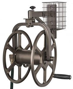 Liberty Garden 712 Single-arm Multi-Directional Garden Hose Reel