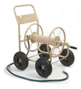 Liberty Garden 870-M1-2 4-Wheel Garden Hose Reel Cart