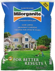 Milorganite Slow-Release Nitrogen Fertilizer