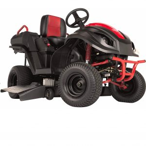 Raven Mpv7100 Hybrid Riding Lawnmower Power Generator And Utility Vehicle, Red Black