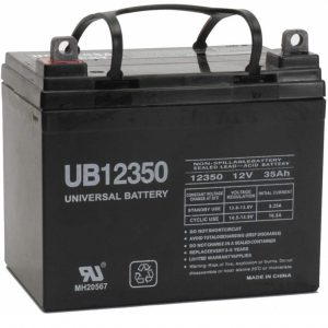 Universal Power Group Battery For John Deere Lawn Tractor