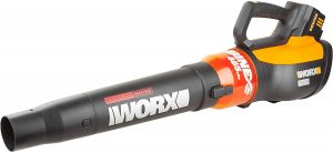 WORX WG591 Turbine 56v Cordless Battery-powered Leaf Blower With Brushless Motor & Turbo Boost