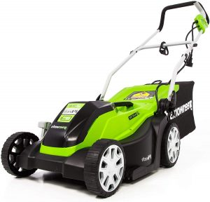 GreenWorks 9 Amp Corded Electric Lawn Mower