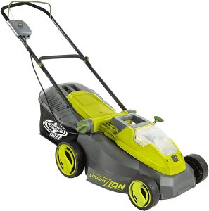 Sun Joe iON16LM Lawn Mower