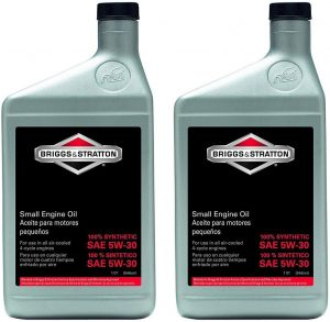 Briggs and Stratton 100074 5W-30 Synthetic Oil