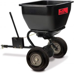 Brinly BS36BH Black Tow-Behind Broadcast Spreader