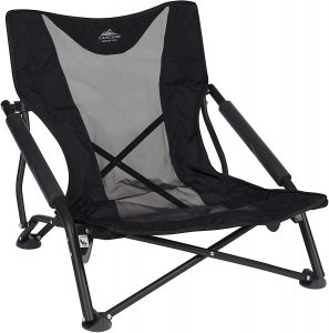 Cascade Mountain Tech Compact Low Profile Folding Camp Chair