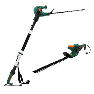 Doeworks Corded Multi-Angle Cutting 3 in 1 Hedge Trimmer
