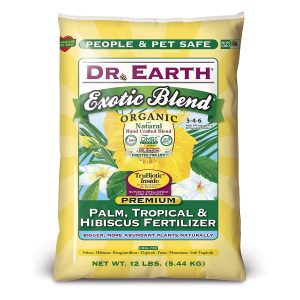 Dr. Earth Exotic Blend Palm, Tropical & Hibiscus Fertilizer