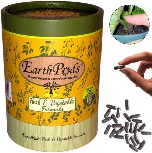 Earth Pods Premium Herb & Vegetable Plant Food
