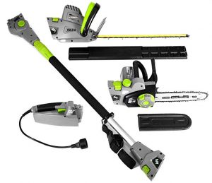 Earthwise CVP41810 7 Hedge Trimmer 4-in-1 Multi Tool