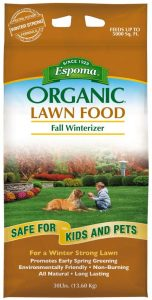 Espoma Organic Fall Winterizer Lawn Food