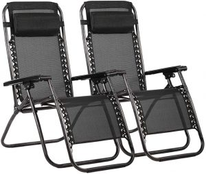 FDW Zero Gravity Chair Patio Lounge Recliners