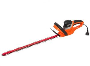 Garcare Corded Hedge Trimmer with 24-Inch Laser Cutting Blade