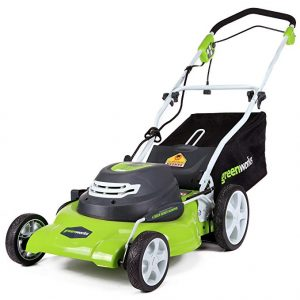 GreenWorks 20-Inch Electric Lawn Mower