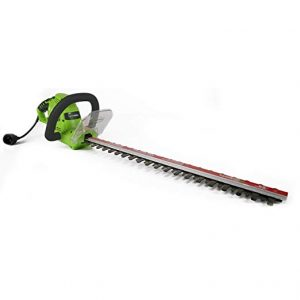 Greenworks 22-Inch Dual-Action Corded Hedge Trimmer 22122