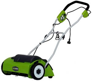 Greenworks 27022 Corded Dethatcher or Scarifier