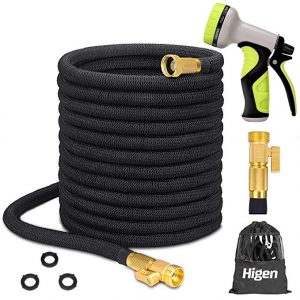 Higen 100ft Upgraded Expandable Garden Hose