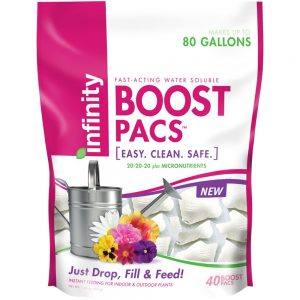 Infinity 20-20-20 40 Count Boost Pacs Fertilizer - The Individually Packed Fertilizer