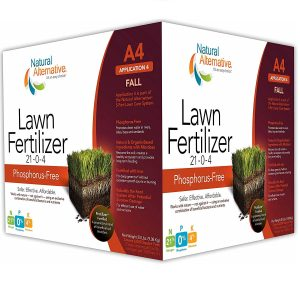 Natural Alternative Fall Lawn Fertilizer