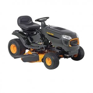 Poulan Pro PP155H42 – A Small, Hydrostatic Riding Lawn Mower That Has A 42-inch Cutting Deck