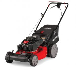 Propelled Gas Powered Lawn Mower With Bagger