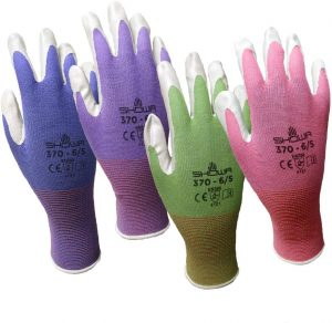SHOWA Atlas Nitrile Garden Gloves