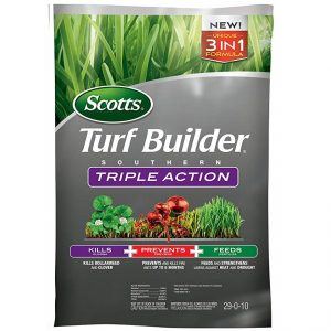 Scotts Turf Builder Southern Triple Action - The 3-in-1 Fertilizer