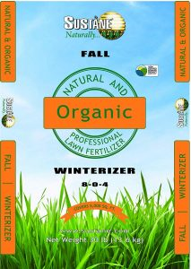 Sustane 8-0-4 Organic Winterizer Fertilizer