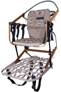 Wide Sit and Climb Combo II Climbing Tree Stand by Lone Wolf