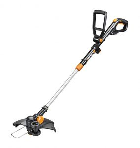 Worx Wg170 Gt Revolution 20v 12 Grass Trimmer Edger Mini-mower 2 Batteries & Charger Included, Black And Orange