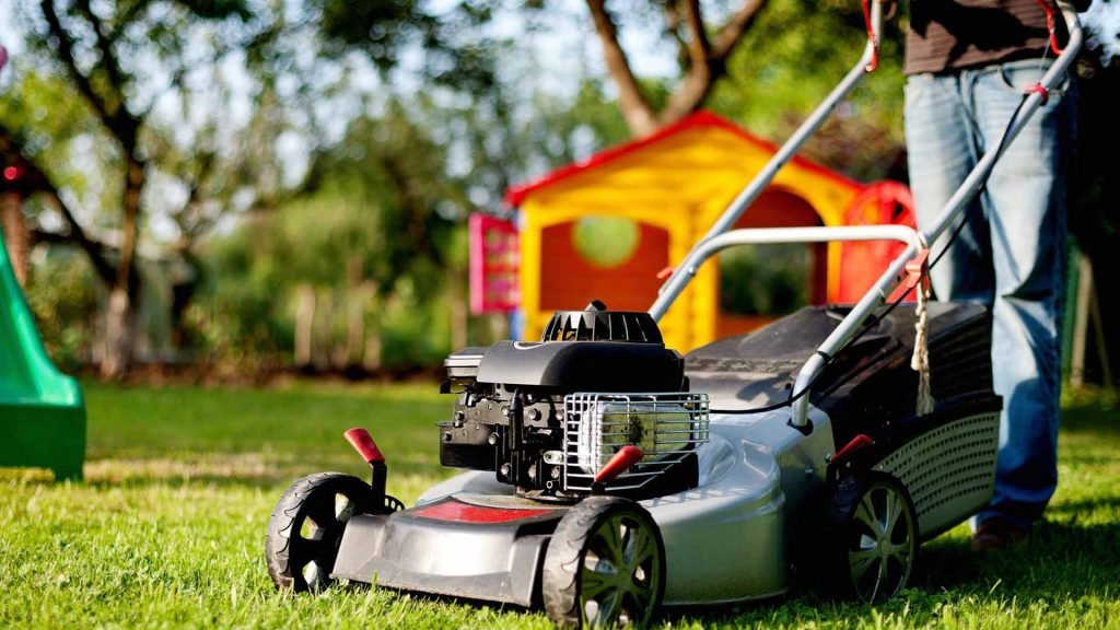 best lawn mower under 300