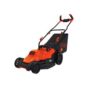 Black+Decker Electric Lawn Mower, 15-inch (BEMW472BH)