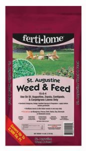 Ferti Lome16lb St Aug Weed Feed