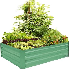 Foyuee Metal Garden Bed Kit