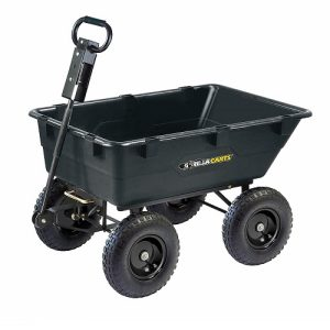 Gorilla Best Dump Carts For Lawn Tractor