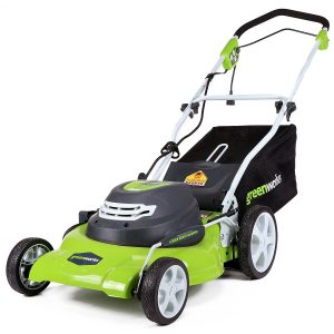 GreenWorks Best Corded Electric Lawn Mower