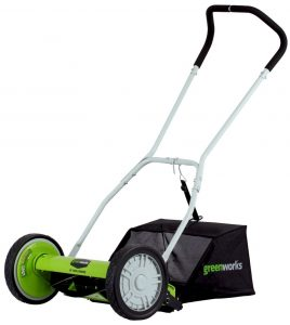 Greenworks Lawn Mower With Grass Catcher