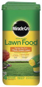 Miracle-Gro Water Soluble Lawn Food, 5 lbs