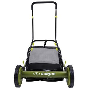 Snow Joe MJ500M 18-Inch Manual Reel Mower with Grass Catcher